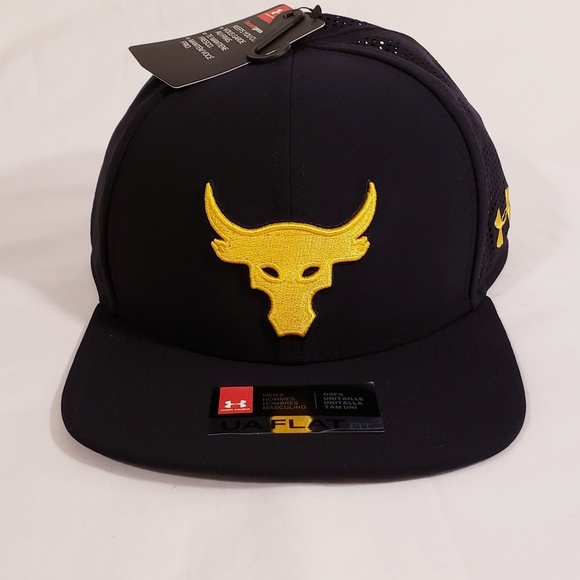 the best attitude b766d a6032 Under Armour X Project Rock Hat